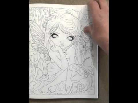 Jasmine Becket Griffith Coloring Book A Fantasy Art Adventure ...