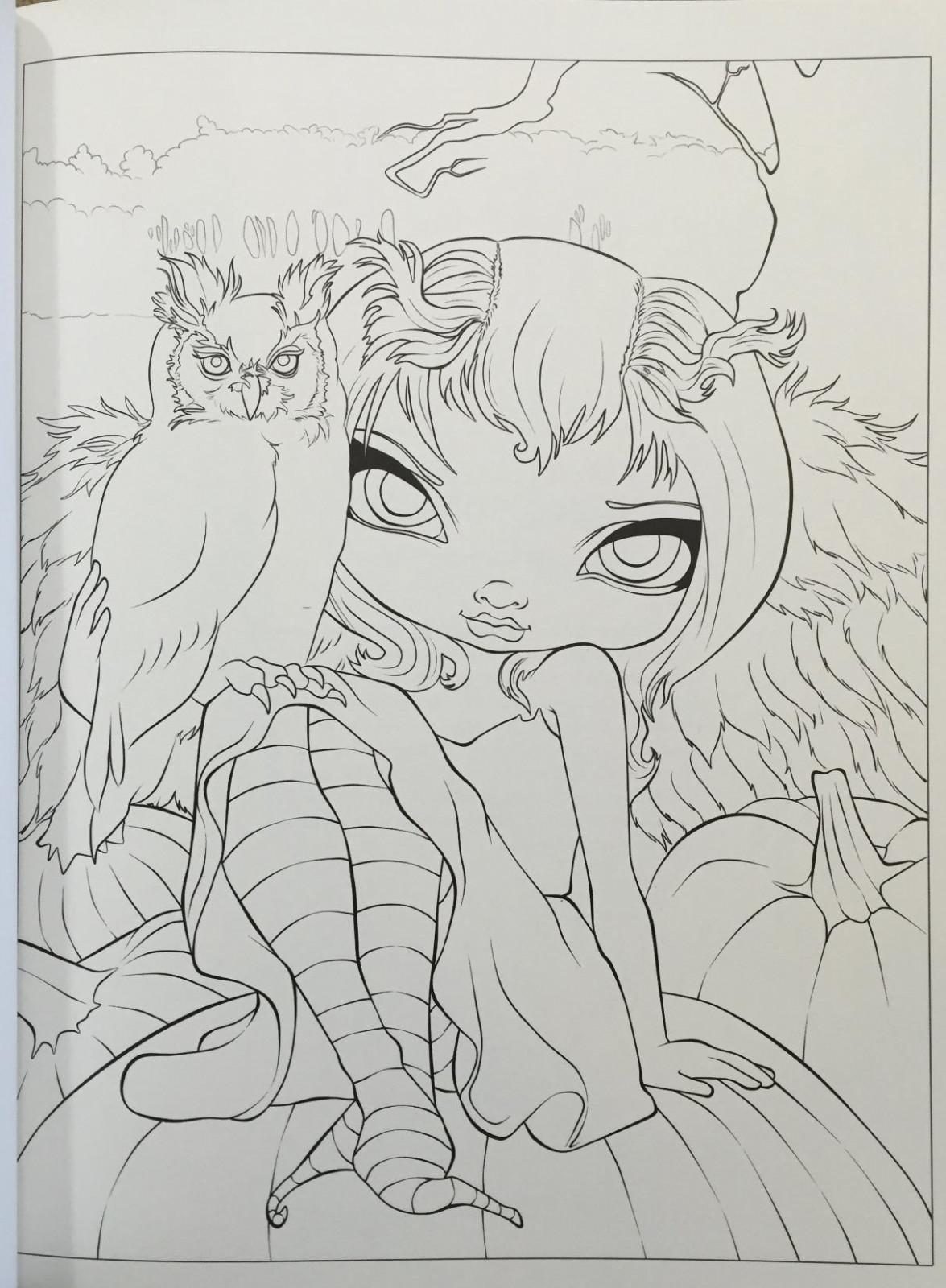 Jasmine Becket Griffith Coloring Pages Printable | Free Coloring Books