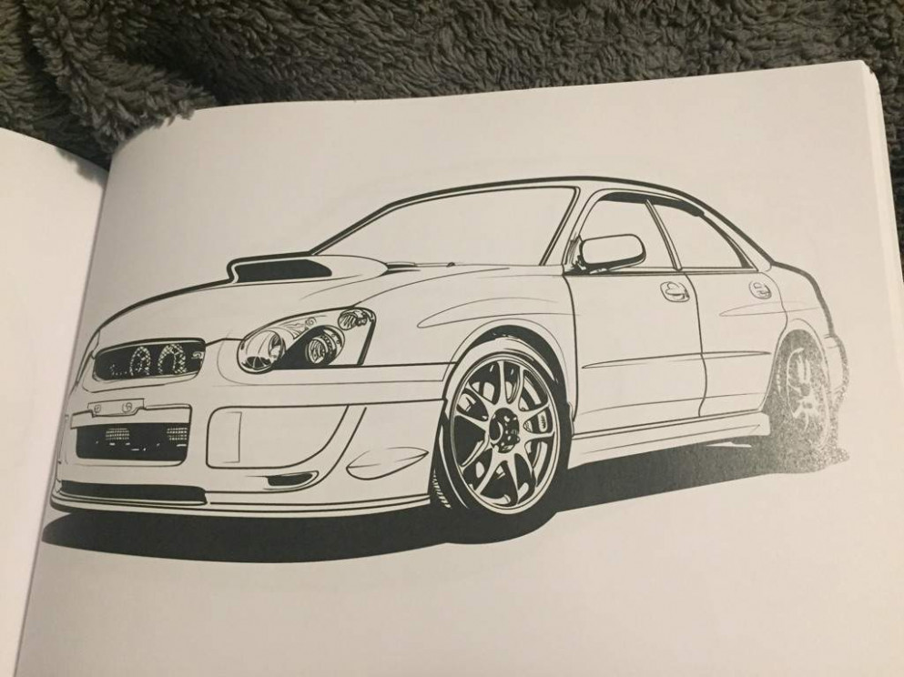JDM Coloring Book | Garage Amino