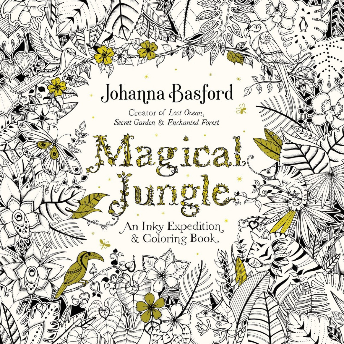 Johanna Basford Just Released Some Art from Her Next Book | Time - magical jungle coloring book