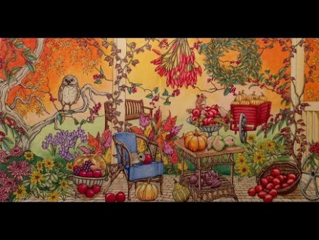 Kanoko Egusa – A Colouring Gallery – Rhapsody in the forest Mix ..