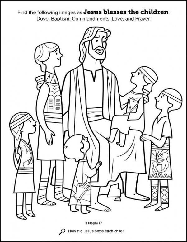 Kids Having Fun with New Book of Mormon Stories Coloring Book ..