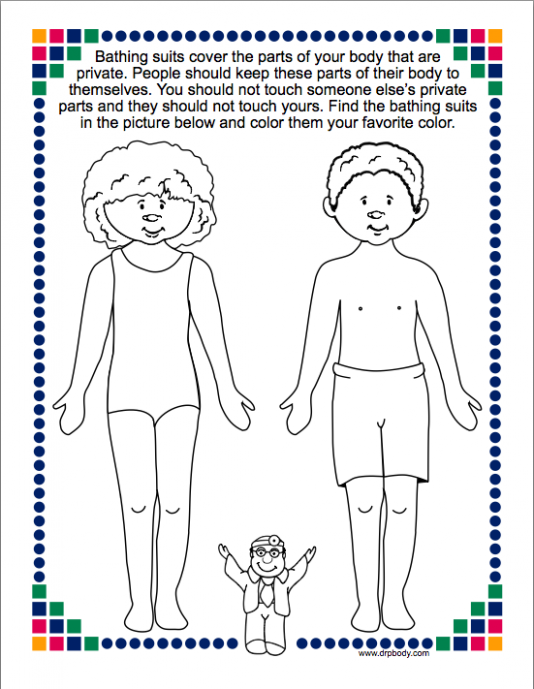 Kindergarten Lessons for Sexual Abuse Prevention | School Counseling ..