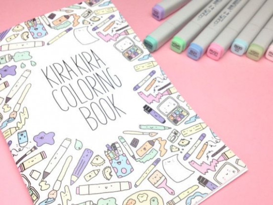KiraKira Coloring Book – Kawaii Doodle Coloring Book | (WARNING ..