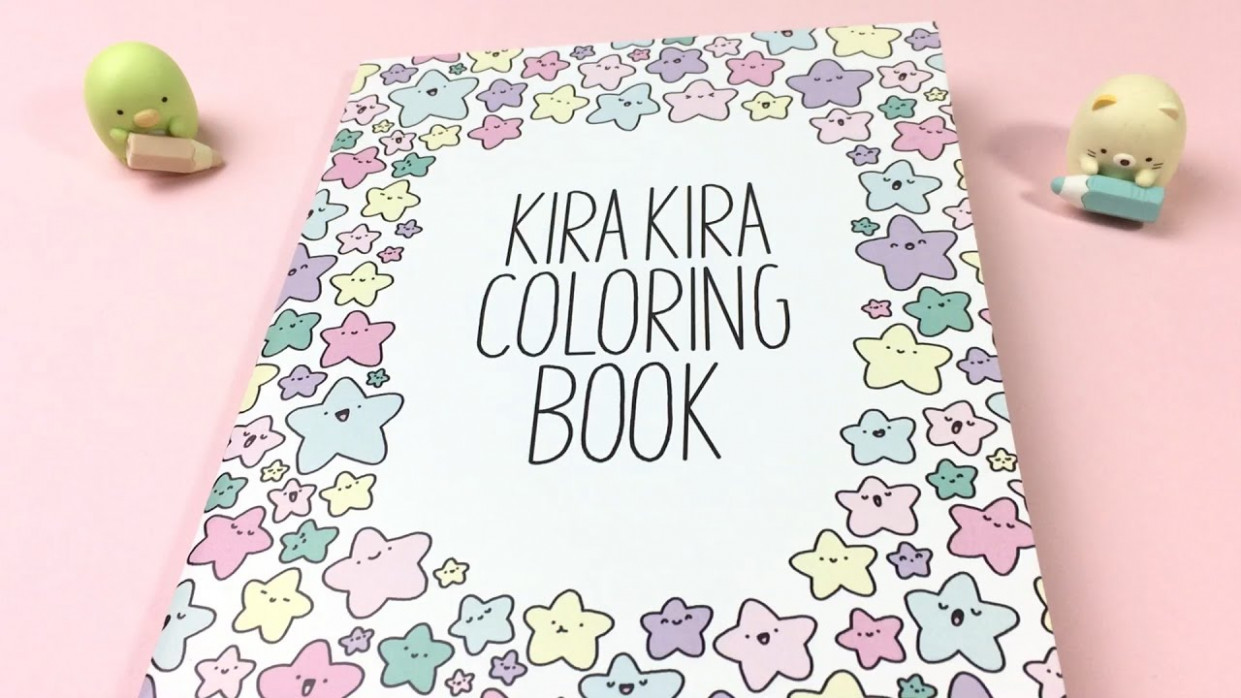 KiraKira Coloring Book Tour! ~ KiraKiraDoodles – YouTube – kira kira coloring book