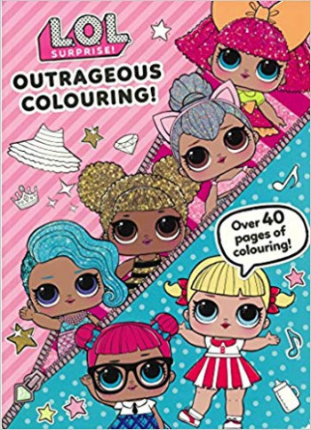 L.O.L. Surprise! Outrageous Colouring! Colouring Book: Amazon.co.uk ...