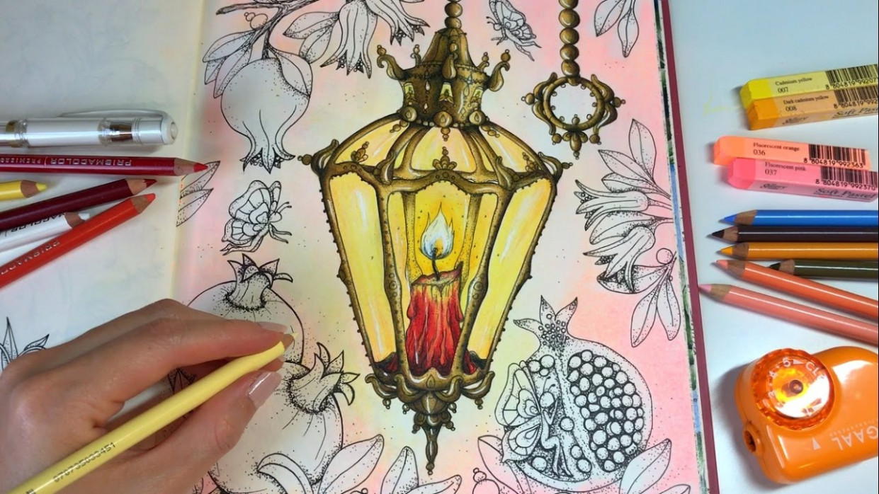 Lantern - Part 19   How I Color Lantern   Magical Delights Coloring ..