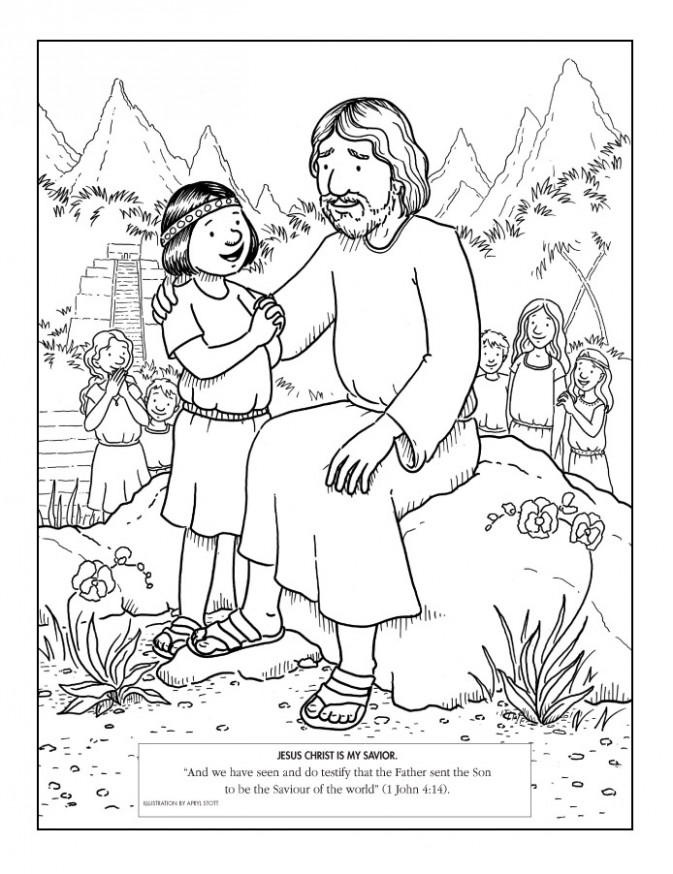 LDS Coloring Pages | 15-15 - lds coloring book