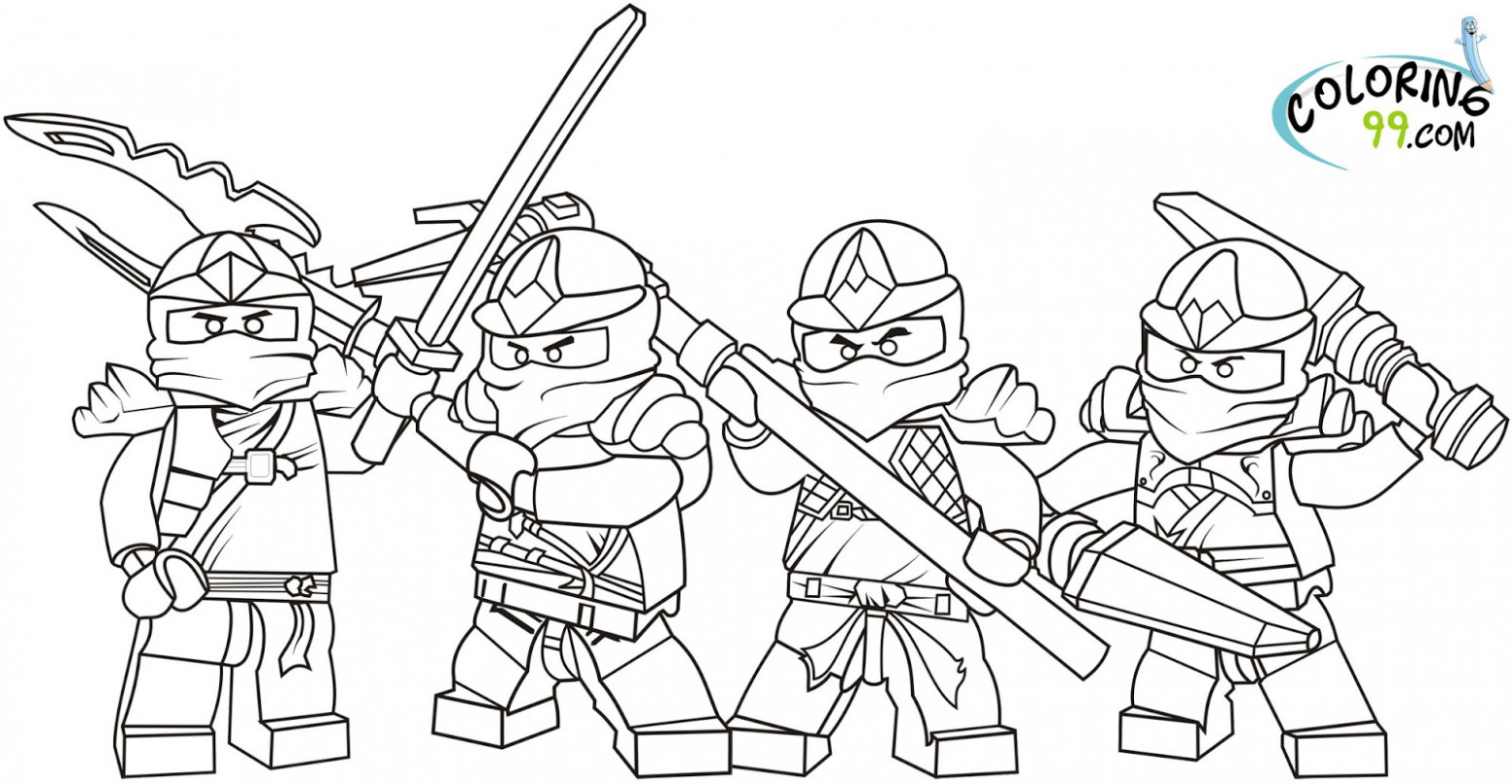 Lego Coloring Book - Coloring Pages - lego coloring book