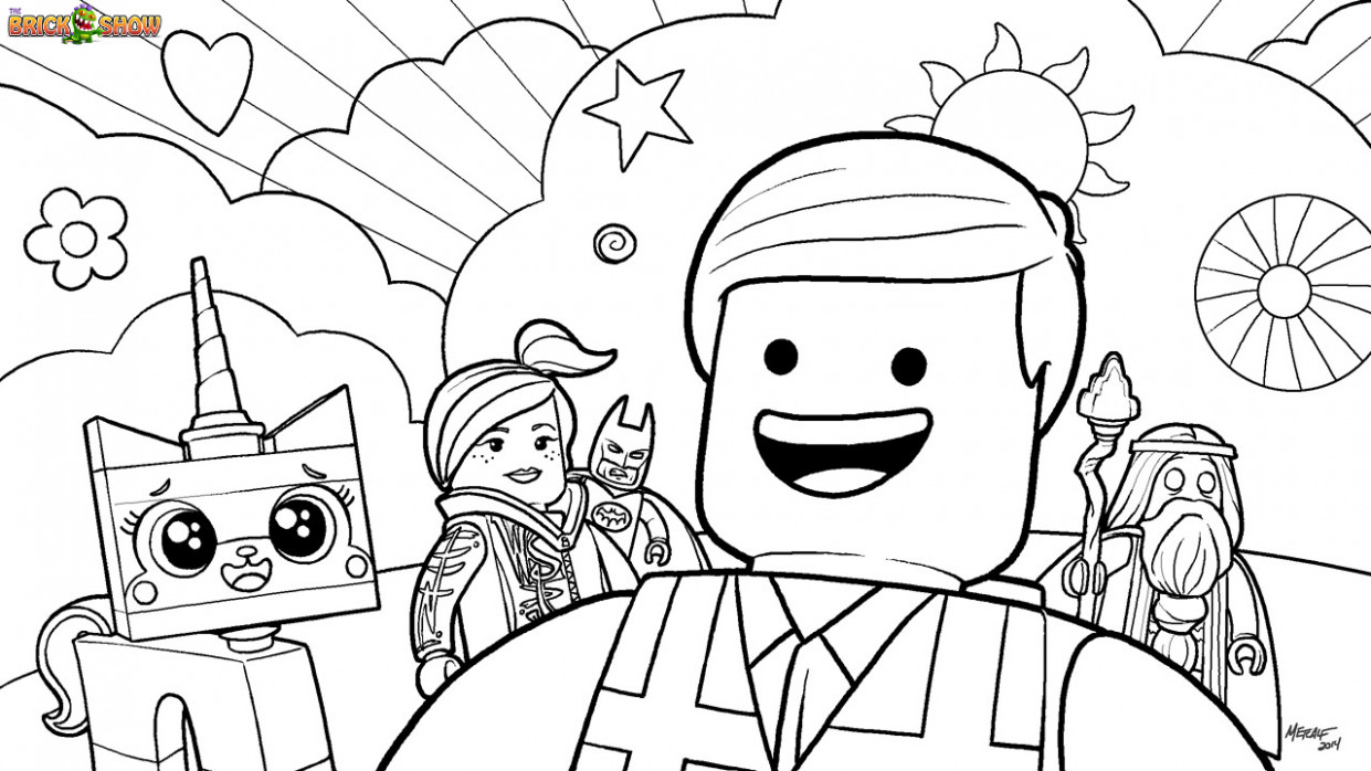 Lego Coloring Pages 16 With Lego Coloring Pages | Thejourneyvisvi ..