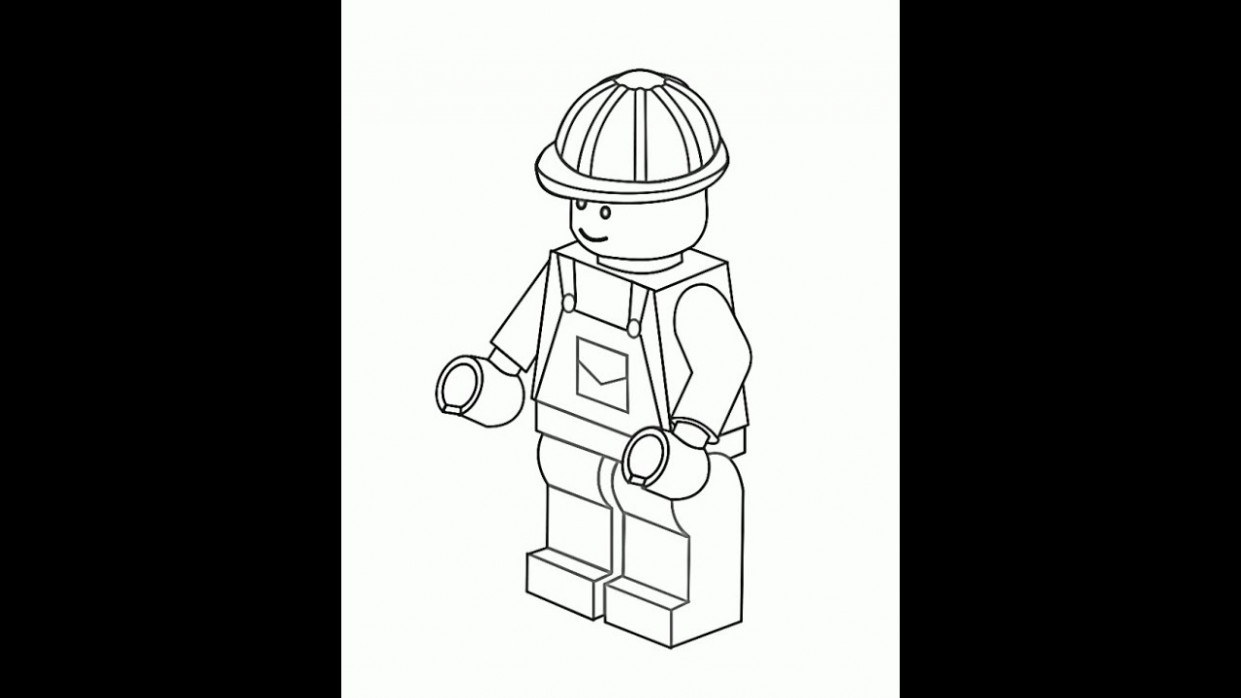 Lego Coloring Pages For Kids – YouTube – lego coloring book