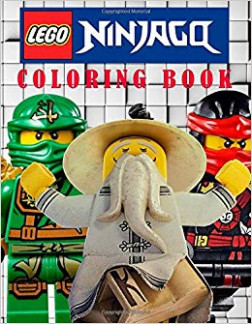 LEGO NINJAGO: Coloring Book on the Ninjago Characters. Great Book ...