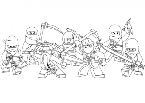 Lego Ninjago coloring page | Free Printable Coloring Pages – ninjago coloring book