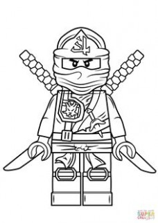 lego ninjago coloring pages kai | Superhero | Coloring pages ...