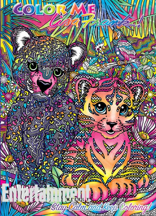 Lisa Frank coloring books: See the four exclusive 'Color Me Lisa ..