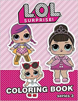 LOL Surprise Coloring Book: 19 Illustrations for Kids (series 19) Vol ..