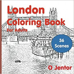 London Coloring Book For Adults: Travel and Color -London Bridge ..