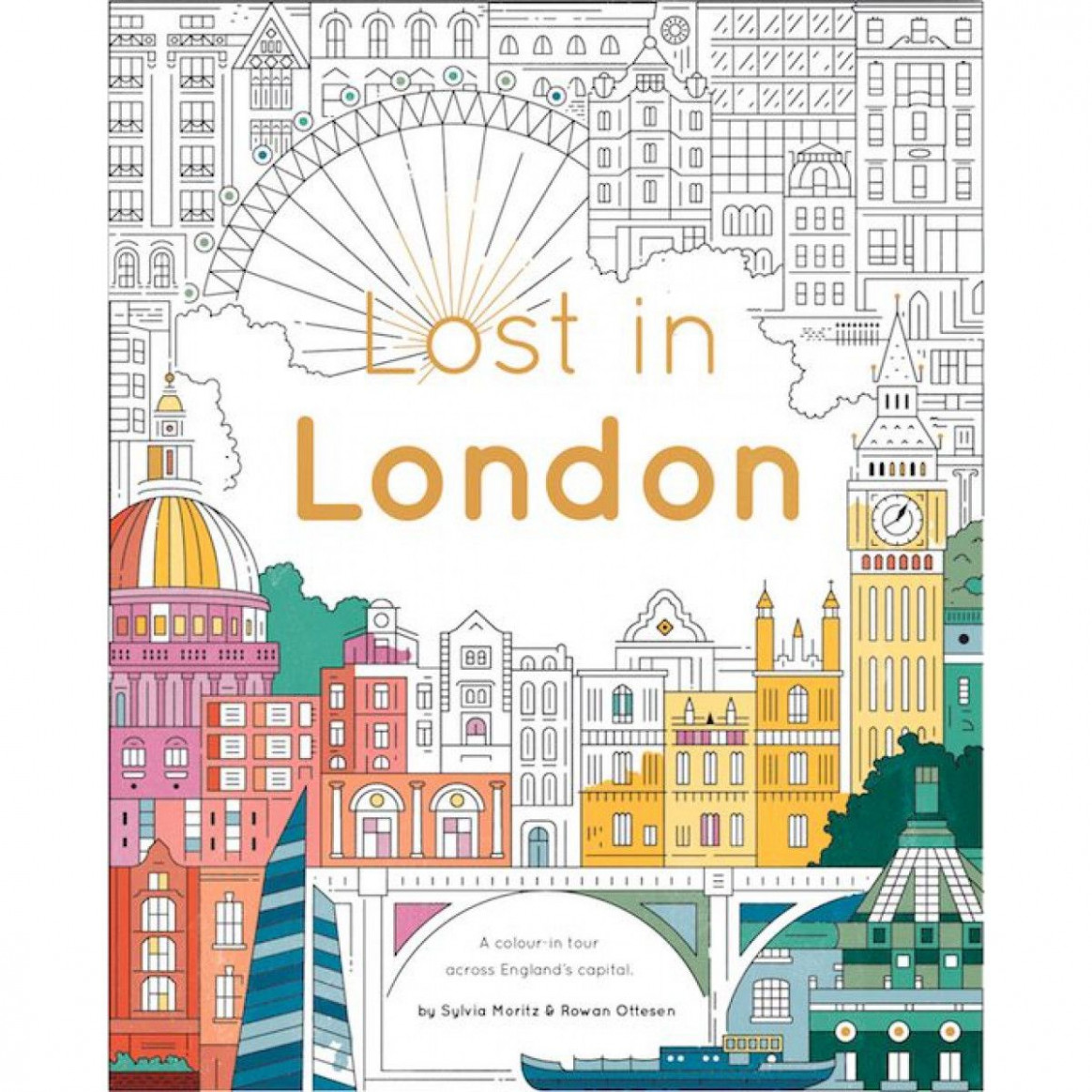 Lost in London Coloring Book – London-Inspired Gifts – Gifts | BBC ..