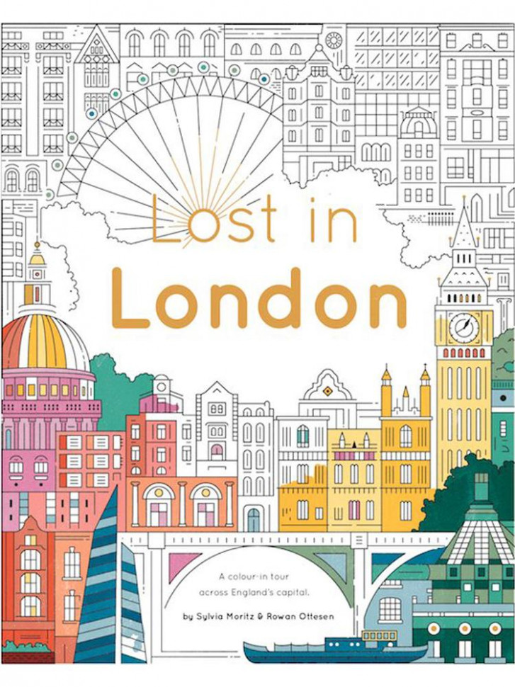 Lost in London colouring book – Museum of London – london coloring book