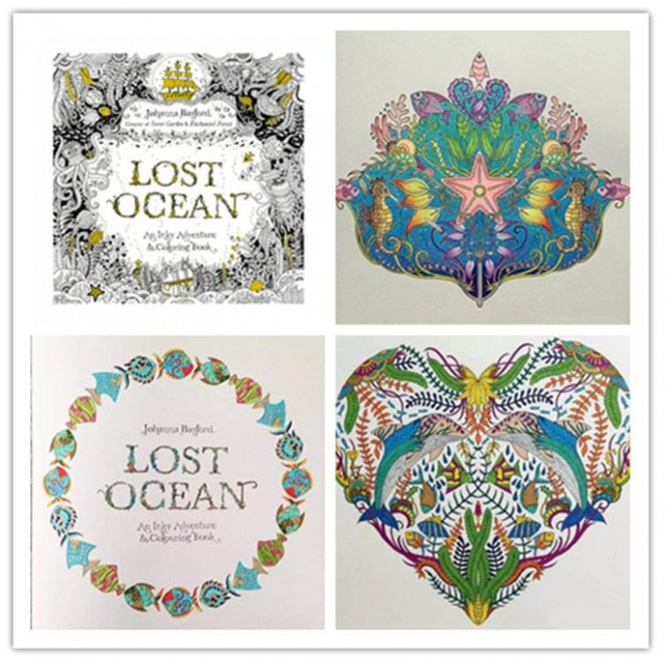 Lost Ocean Coloring Book Coloring Book Awesome Ocean Coloring Book ...