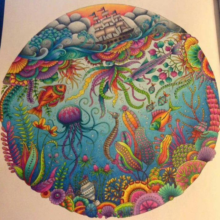 lost ocean colouring book - Google Search | Lost Ocean Colouring ..