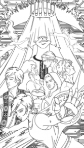 Lunar Chronicles coloring book to hit shelves in 19 – YA Interrobang – lunar chronicles coloring book