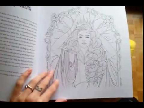 Lunar Chronicles Coloring book – YouTube – lunar chronicles coloring book
