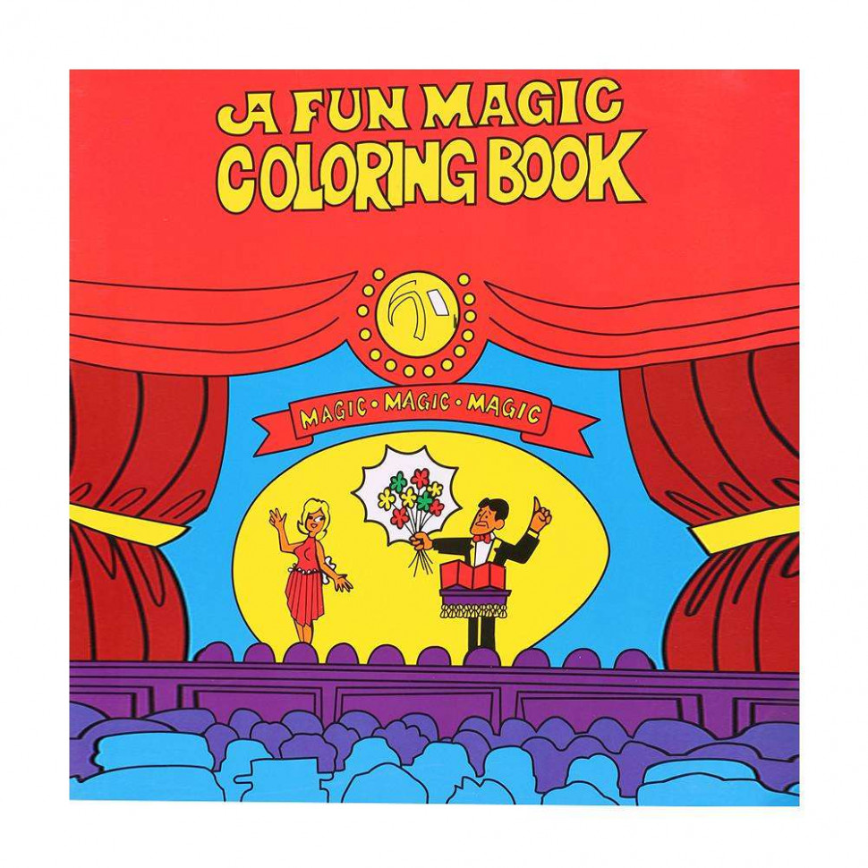 Magic Coloring Book Magic Tricks Stage Performance Props Kids Toys ...