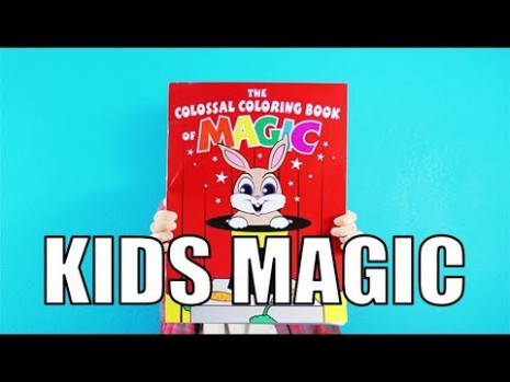 Magic Review: Colossal Coloring Book by Danny Orleans  – eddie redmayne magic coloring book