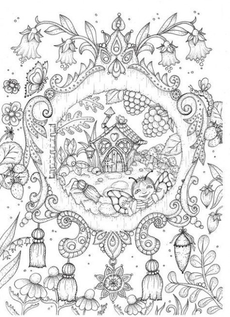 Magical Delights Carovne Lahodnosti by Klara Markova | Coloring ...