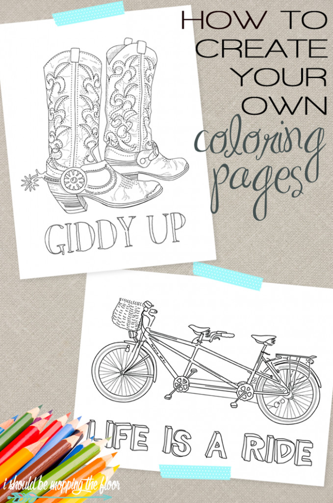 Make Coloring Book Pages From Photos Coloring Page - Chide