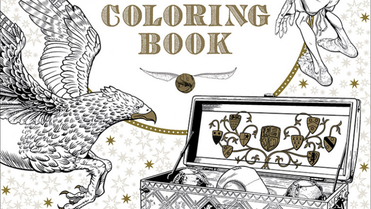 Make Your Own Magic with the First Official Harry Potter Coloring ...