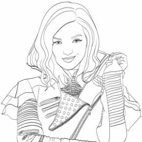 Mal Descendants 19 Coloring Page | Free Movie Coloring Pages ...