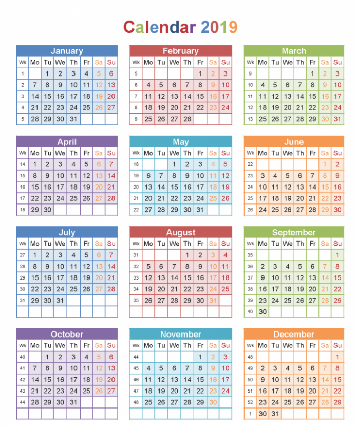 Malaysia 14 Calendar Template PDF, Excel, Word Template | December ...