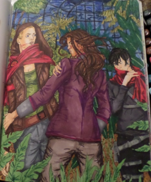 mare barrow fan art | Tumblr - red queen the official coloring book