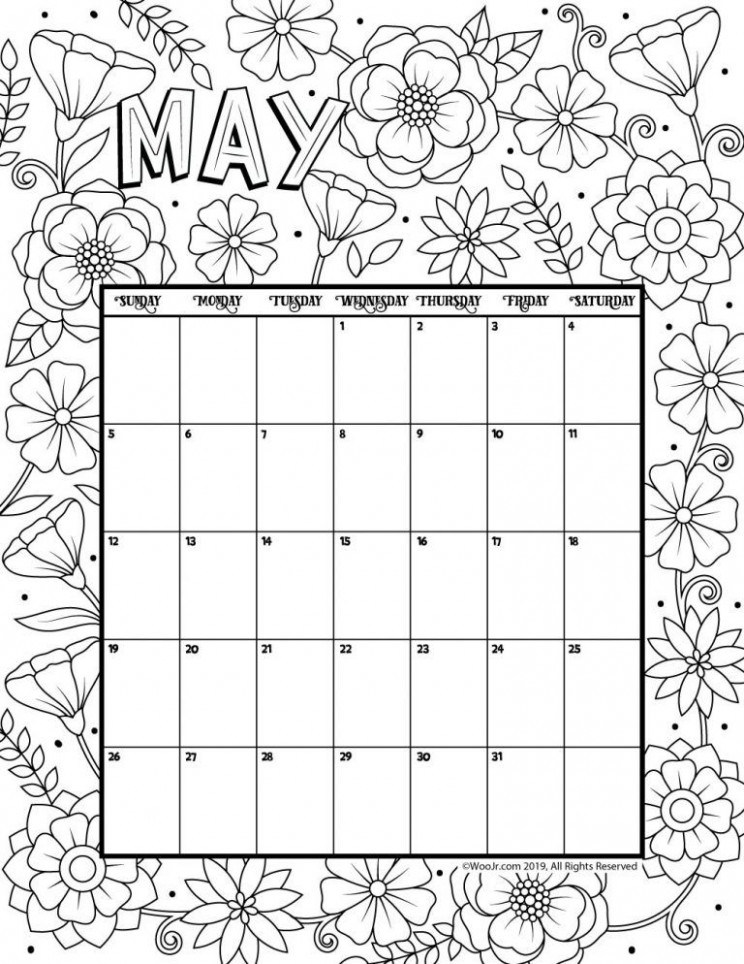 May 17 Coloring Calendar | NEST | Pinterest | Calendar, Calendar ..