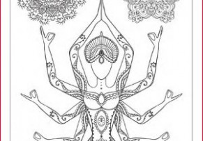 Meditation Coloring Pages 17 Yoga and Meditation Coloring Book for ...