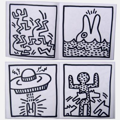 My First Coloring Book – Keith Haring Pop Shop