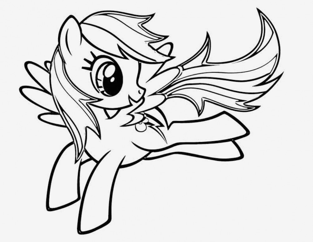 My Little Pony Coloring Page Easy and Fun Rainbow Rocks Coloring ..