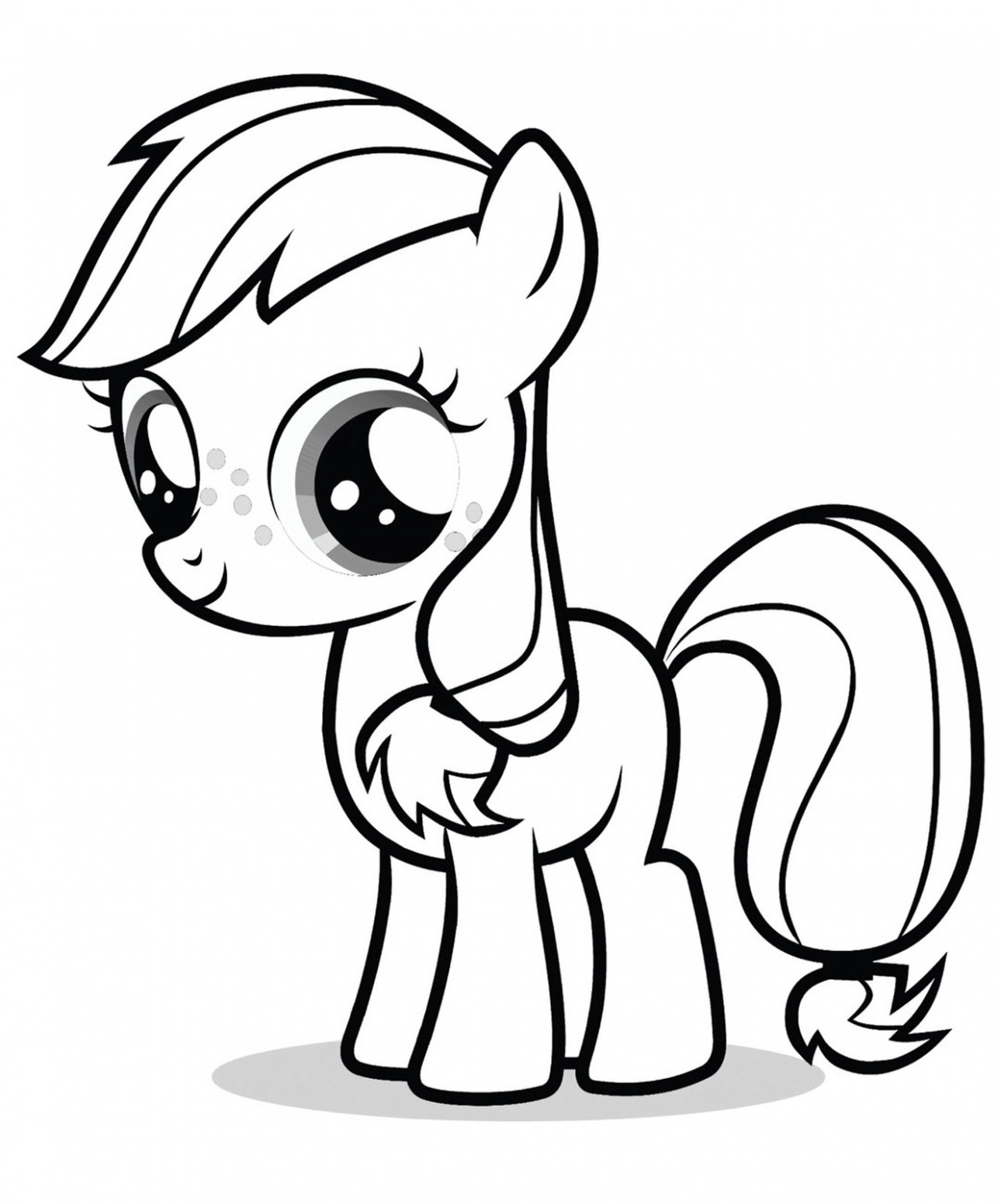 My Little Pony Coloring Pages Printable Download | Free Coloring Books – my little pony coloring book