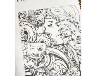 New Gulliver's Travels Coloring Book For Adults By James
