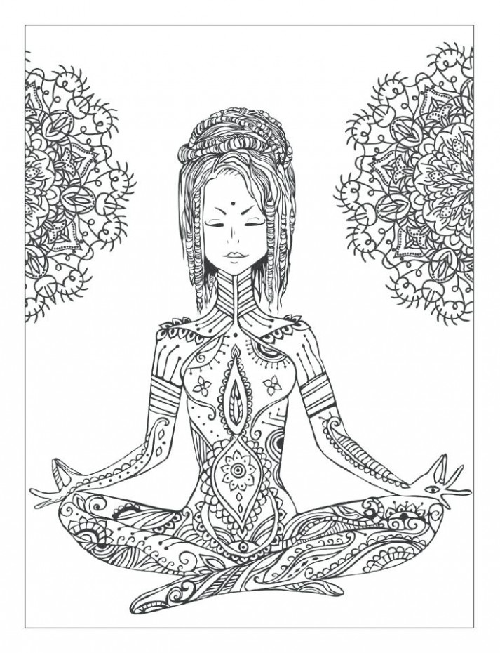 New Lizzy Dee Coloring Books Or Yoga And Meditation Coloring Book ...
