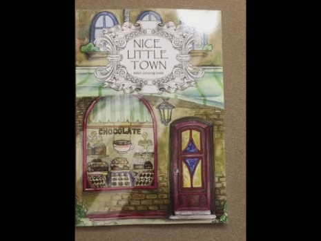 Nice Little Town flip through – YouTube – nice little town coloring book