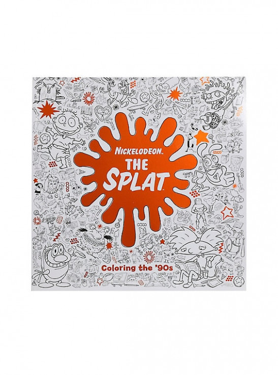 Nickelodeon The Splat Coloring The '20s Coloring Book – nickelodeon the splat coloring book