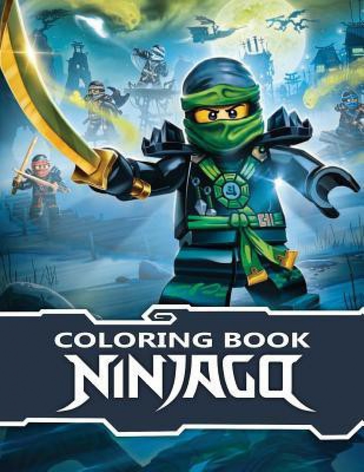 Ninjago Coloring Book: Buy Ninjago Coloring Book by Paradise Books ...