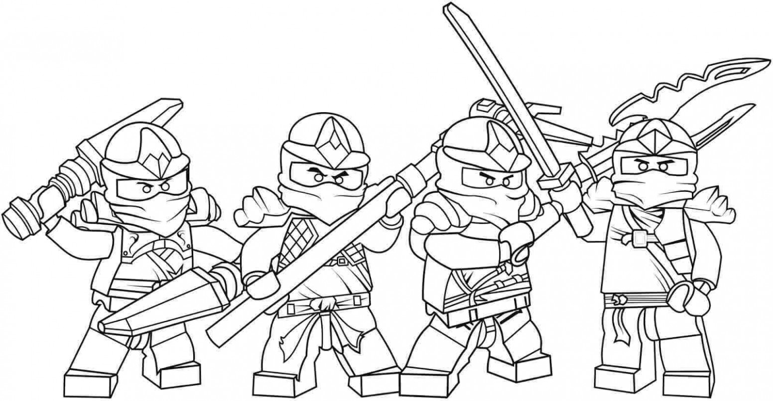 Ninjago Coloring Pages Free 17 With Ninjago Coloring Pages Free ...