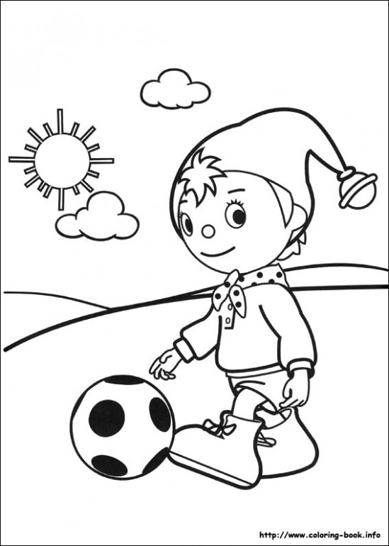 Noddy coloring pages on Coloring-Book