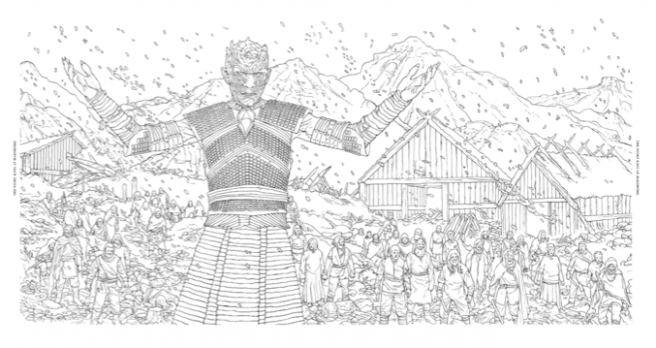 Official HBO Game of Thrones Coloring Book coming from Chronicle ..