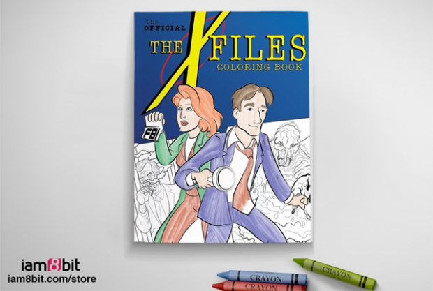 Official X-Files Coloring Book To Be Released Tonight | Mental Floss – x files coloring book