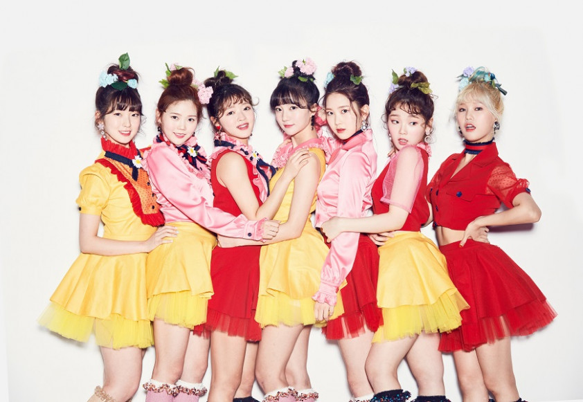 "Oh My Girl' Go All Out to Make Their World Colorful in ""Coloring .."